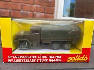 Solido Dodge 6x6 U.S.M.D 40th Anniversary Edition In Original Box - Mint New
