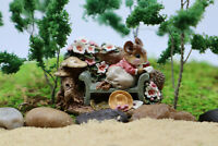 Wee Forest Folk Love Letter FS-05 Nature Mouse Figurine WWF Retired 1992