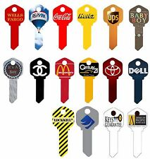 Promotional Keys, Blank House Key,SC1 or KW1 or WR5 Your design, logo 1,000 key