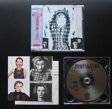 PROPAGANDA A Secret Wish 86 JAPAN 1ST CD w/STICKER-OBI P35D-20007 ZTT DIE KRUPPS