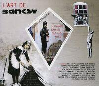 Madagascar 2018 MNH Banksy 1v S/S Graffiti Urban Street Art Stamps