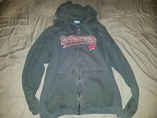 Ncaa Wisconsin Badgers Zip-Up Sports Sweatshirt Size Xl (Vintage)