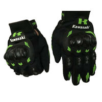 Kawasaki Motorcycle Motorrad Voller Finger Motorcycle Gloves Handschuhe Luvas