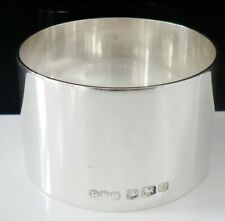 More details for heavy sterling silver napkin ring, r f mosley & co, sheffield 1944