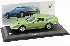 Maserati Indy Coupe Baujahr 1969 grün 1:43 Leo Models