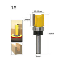 Yonico 31315-SC 1//8-Inch Dia 3D Carving ZrN Coated CNC Router Bit 1//4-Inch Shank