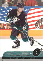 2002-03 Upper Deck Hockey Cards 1-250 Pick From List