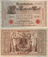 1000 REICHS MARK 1910 - BANCONOTA GERMANIA BERLIN 21 APRILE 1910