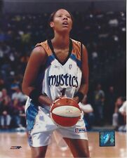 CHAMIQUE HOLDSCLAW 8x10 WNBA LICENSED PHOTOGRAPH WASHINGTON MYSTICS UTENN