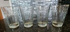 New ListingLongaberger Woven Traditions glass juice glassware tumblers 8oz set of 4