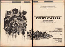 """THE WANDERERS__Orig. 1978 Trade AD / poster__""""Production begins""""__Philip Kaufman"""