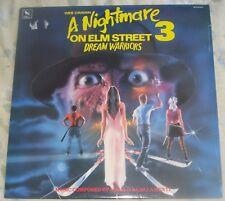 A NIGHTMARE ON ELM STREET 3 (Angelo Badalamenti) rare orig. near mint lp (1987)