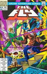 The Fly Snyder Yoshida Ziuko Vol. 1 #6 Archie Adventure Series March 1984 NM
