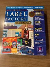 Art Explosion Label Factory Deluxe (New, Open box)