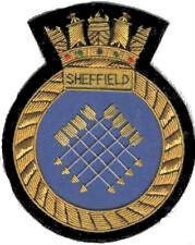 UK Britain British HMS Royal Navy Sheffield Patch Badge Ship Destroyer War Fleet