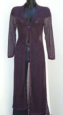 Maxi chemise vintage ouverte DAVID FILO Taille 36-38 FR Bon état