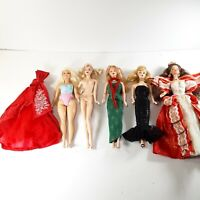 Interesting Barbies Lot of 6 Items Holiday Model Muse Curvy Solo in Spotlight
