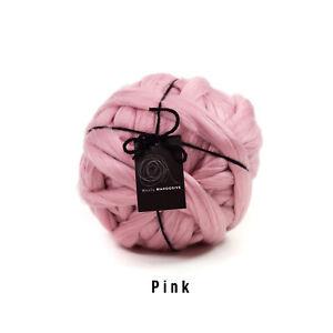 2kg Pink Mammoth® Giant Super Chunky Extreme Arm Knitting Big Yarn