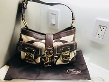 Coach Shoulder bag Authentic Genuine Leather / Man Made Material Rare Edition