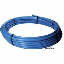 25mm x 150m Coil Blue MDPE Cold Water Mains Supply Pipe