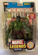 * 2002 Toy Biz Marvel Legends Series 1 The Incredible Hulk & Reprint IH 314