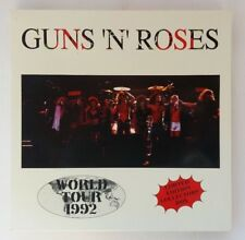BOX GUNS N' ROSES RARO ITALIA ‎– LIVE IN JAPAN 1992 LP PICTURE - POSTER NO CD
