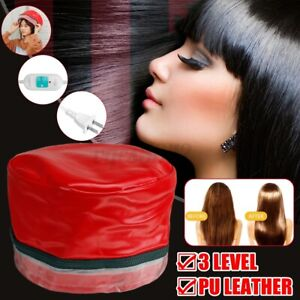 Electric Hair Steamer Dryers Heating Cap Hat Thermal Treatment Care Beauty Home