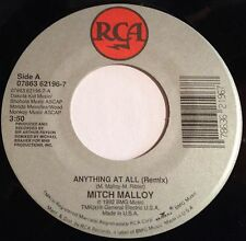 Mitch Malloy 45 Anything At All / Mirror Mirror  VG++