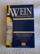 Wein Einkaufsführer Buch Dorling Kindersley 2500 Weine Welt 405 Seiten klein