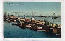 MUELLE STA CATALINA, LAS PALMAS: Canary Islands postcard (C27442)