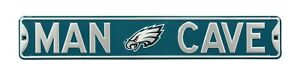 Philadelphia Eagles Authentic Steel Street Sign Man Cave with Logo 36x6 36in