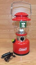 Genuine Coleman (5312) Series Red Rechargeable Retro Lantern Only **READ**