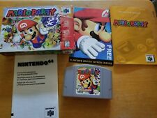 N64 Mario Party Complete in Box Nintendo 64, 1999