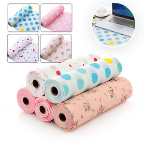 1 Roll Waterproof Mat Drawer Liner Kitchen Cupboard Shelf Protection Cover UK