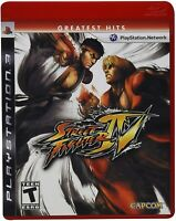 PLAYSTATION 3 PS3 VIDEO GAME STREET FIGHTER IV BRAND NEW AND SEALED