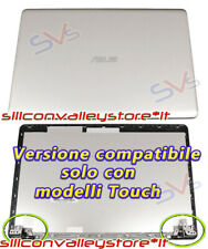 Cover LCD Asus X580gd X580vd X580vn N580 (silver)(versione Touch) con Cerniere