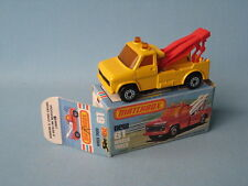 Lesney Matchbox Ford Wreck Truck Red Jibs and Hooks Boxed Yellow Body