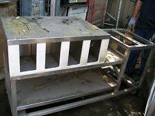 Oven/ Soda Fountain Etc Stand /Cab . , Orginizer,S/S, 6 Ft. 900 Items On E Bay