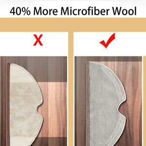 Full Coverage Mop Cloth For Xiaomi Roborock S5 S50 S51 S55 S6 E2 E3 E4 Vacuum