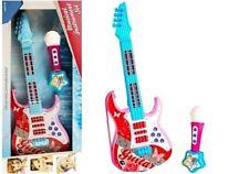 Kindergitarre Spielzeugsgitarre Gitarre Sound- und Lichteffekte ROSA