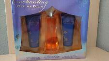 CELINE DION ENCHANTING 100 ml Toilette + Shower gel 75 ml + Body lotion 75 ml