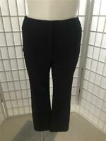 Women's Rafaella 14 Black Stretch Crop Ankle Casual/Dress Pants