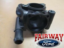01 thru 04 Escape OEM Genuine Ford Thermostat Water Coolant Outlet Housing 2.0L