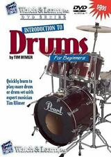 Watch And Learn Introduction to Drums (DVD) by Tim Wimer