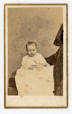 CDV PHOTO NEW-YORK Gurney & son 1868, Victor main bague femme voilée bord cadre