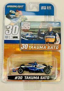 1:64 2021 Greenlight Takuma Sato #30  Indy 500 Winning  IndyCar Diecast