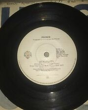 "PRINCE: SEXUALITY/ I WANNA BE YOUR LOVER (1981 AUSTRALIAN 7"" SINGLE)"