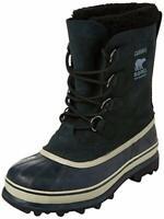 Sorel Caribou Black/Tusk Men's Waterproof Winter Snow Boot, Choose Size!
