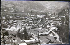Mexico~1930's Angangueo Mich. ~ Town View ~ Franco Real Photo Pc Rppc