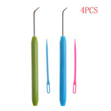 4pcs Needle and Hook Crochet Hook Set For Knifty Knitter & Knitting Loom Hook L3